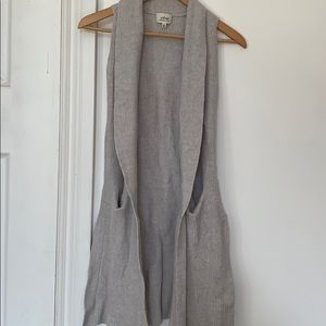 Wilfred Knitted Long Vest
